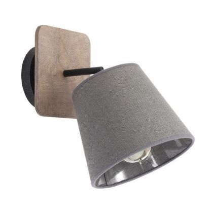 reflektor do sypialni styl rustykalny