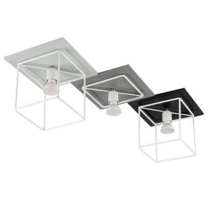 nowoczesna lampa sufitowa geometryczna