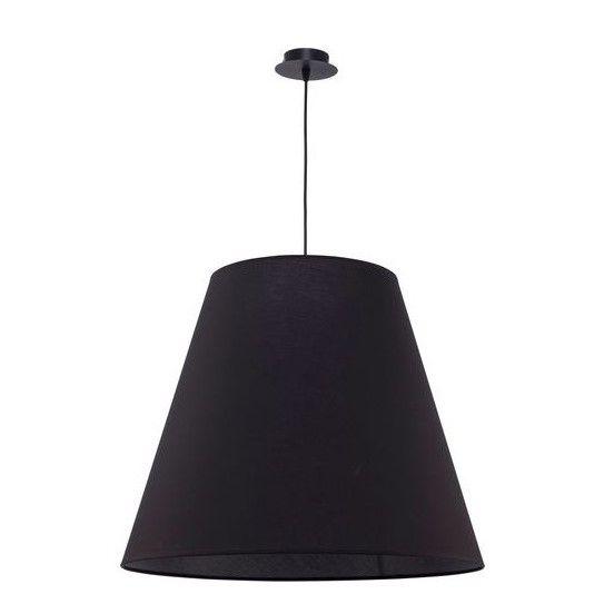 nastrojowe lampy czarne aranżacja