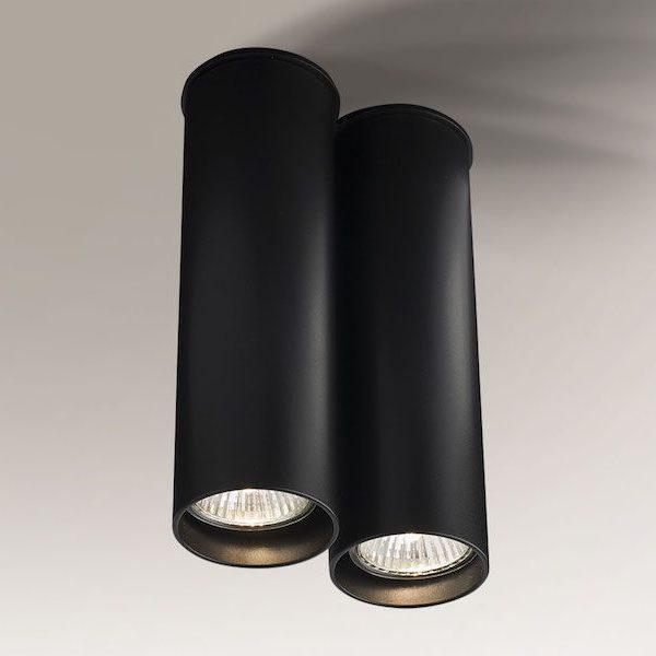 podwójna lampa tuba