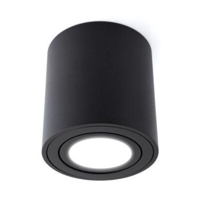 czarna tuba sufitowa