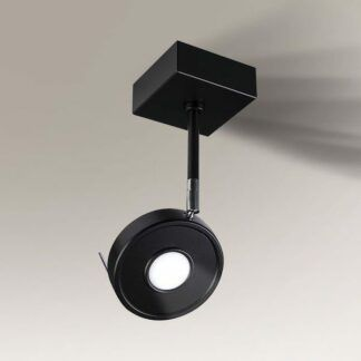 Elegancki reflektorek LED Fussa IL - czarny