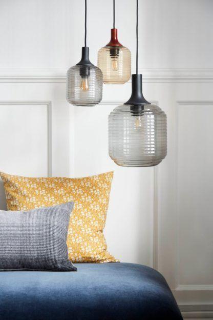 lampy wiszące ze szkła do salonu