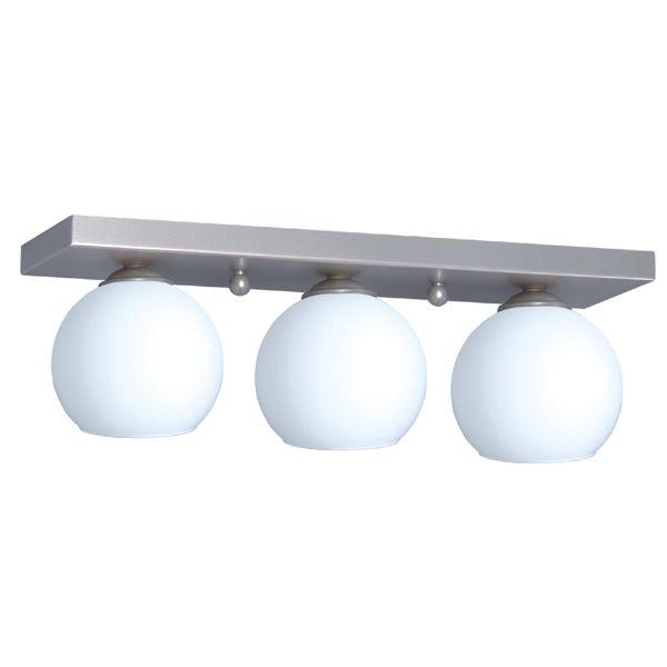 lampa sufitowa trzy szklane kule