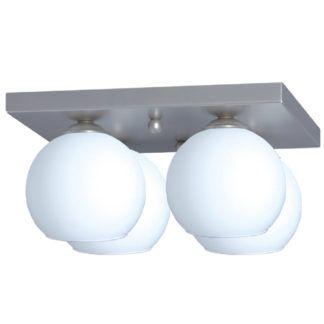 Lampa sufitowa Satin -  szklane klosze