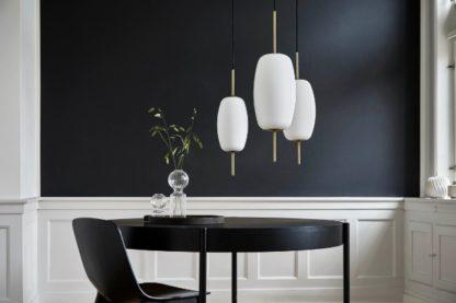 designerskie oświetlenie salon aranżacja