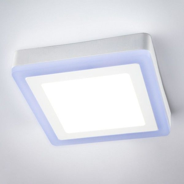 kwadratowy plafon LED