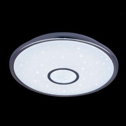 okrągła lampa sufitowa efekt migotania