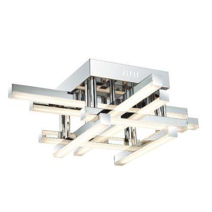 geometryczna lampa sufitowa LED