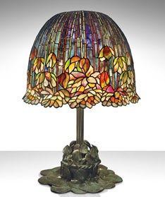 lampa witrażowa stojąca tiffany kolorowa