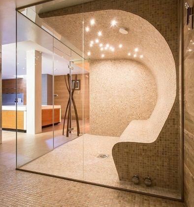 oświetlenie w łazience kabiny prysznicowej
