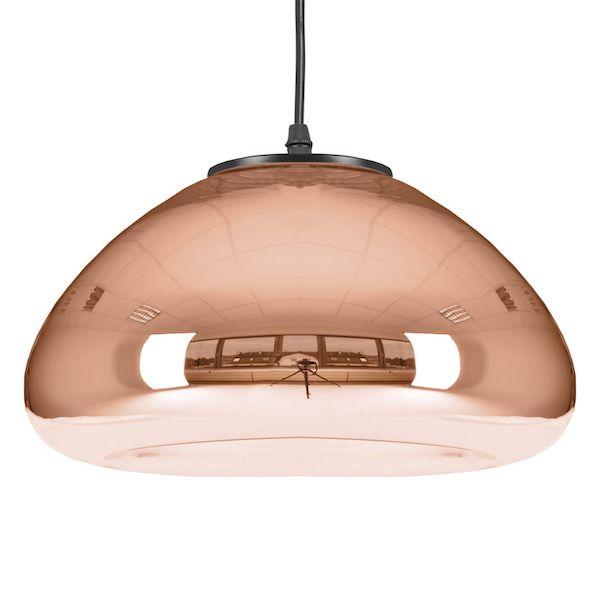 złote lampy wiszące w stylu nowoczesnym