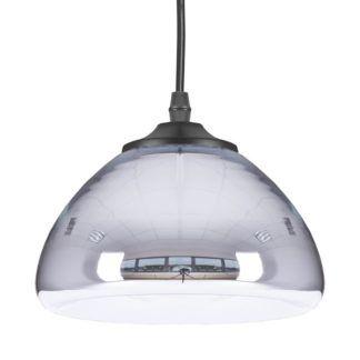 Lampa wisząca Victory Glow - mała srebrna