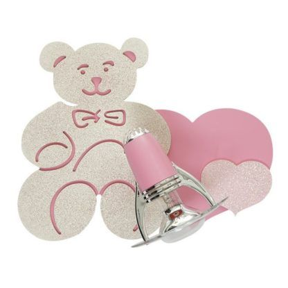 Dziecięcy kinkiet Honey - różowy reflektorek