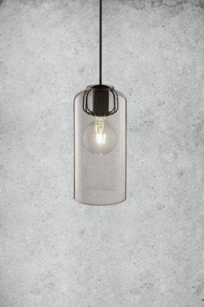 bezbarwny szklany klosz do lampy wiszącej