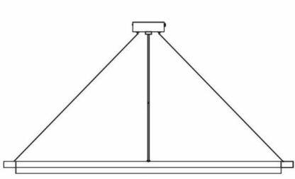 Minimalistyczna lampa wisząca SpaceB - Nordlux - DFTP - zmiana barwy światła