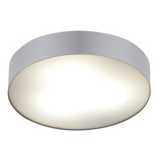 Srebrny plafon Arena - okrągły, IP44
