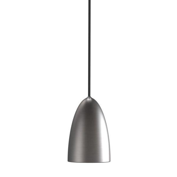 nowoczesna srebrna lampa wisząca