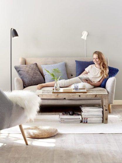 nowoczesna lampa podłogowa aranżacja salon