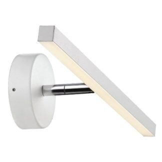 Biały kinkiet IP S13 - Nordlux - DFTP - LED, IP44