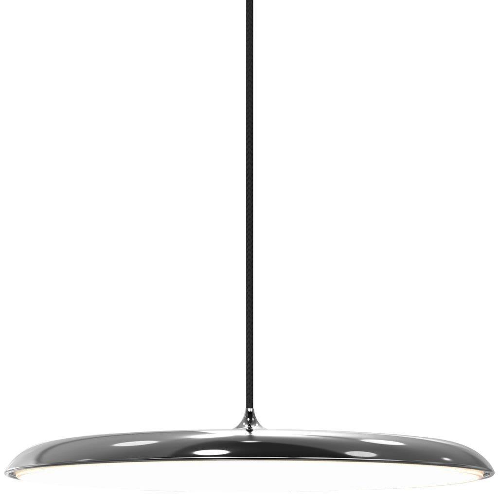 Duża lampa wisząca Artist - Nordlux - DFTP - srebrna