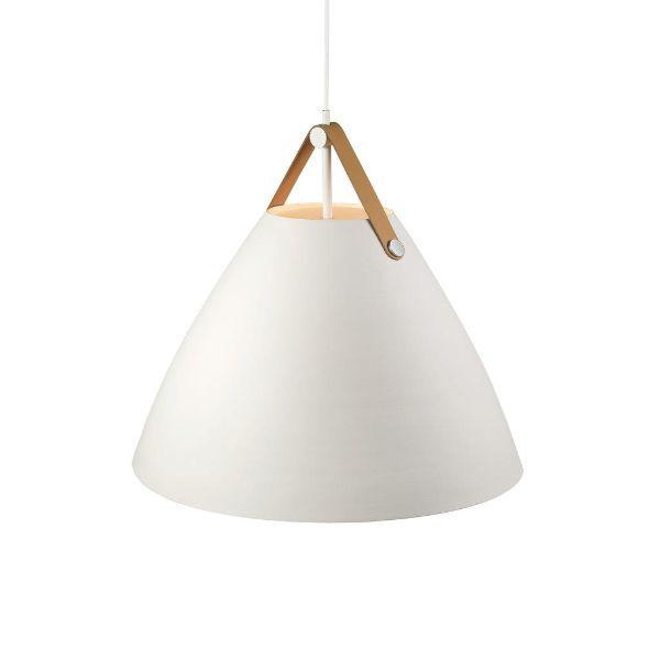 Duża lampa wisząca Strap - Nordlux - DFTP - biała