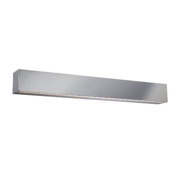 srebrny kinkiet led możliwość łączenia