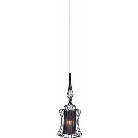 druciana lampa wisząca mała