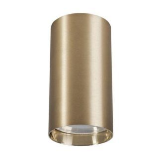 Spot sufitowy Eye S - złota tuba