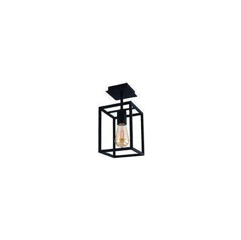 lampa sufitowa metalowa czarna oprawa