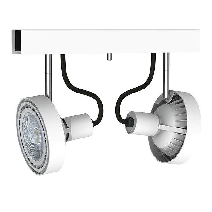 podwójna lampa sufitowa reflektory