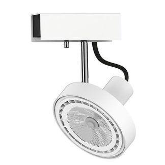 Biały reflektor Cross - nowoczesny