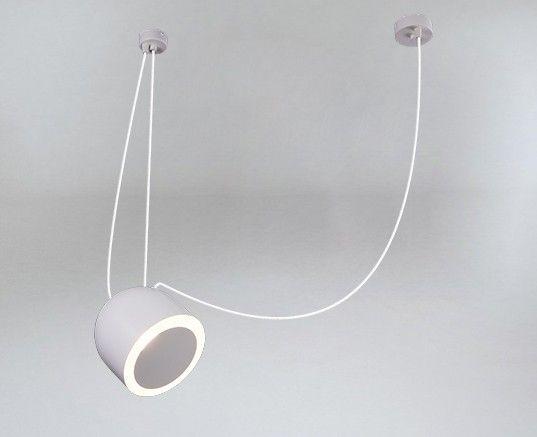 szara lampa wisząca do sypialni
