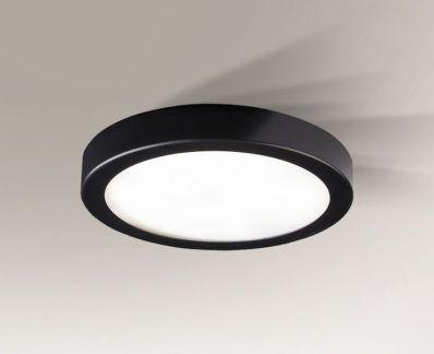 Nowoczesy plafon LED Ito  - czarny