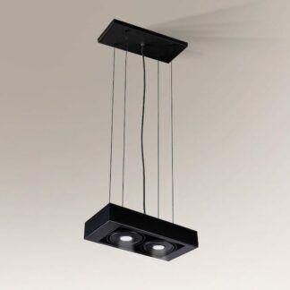 Lampa zwieszana LED Koga IL - regulacja, czarna