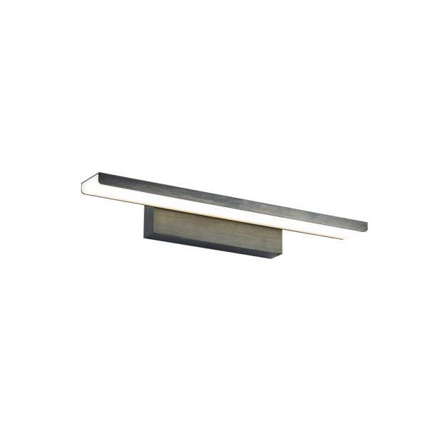 Nowoczesny kinkiet Gleam - LED,czarny