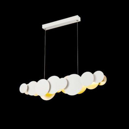 designerska lampa wisząca nad stół led