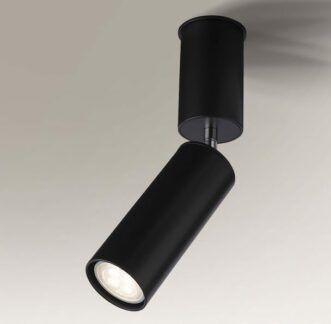 Prosty reflektorek Shima - regulacja - czarny