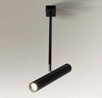 Reflektor tuba Yabu na wysięgniku - czarny