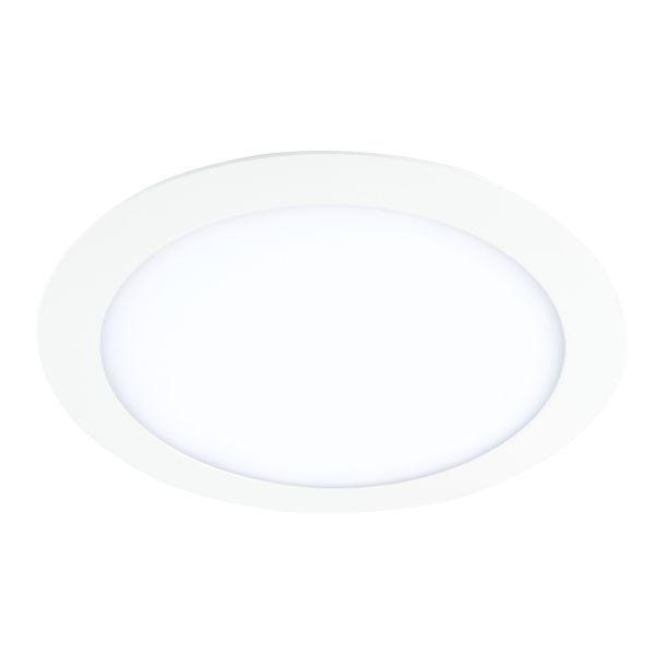 białe oczko sufitowe