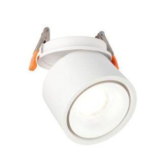 Regulowana oprawa sufitowa Creston - biała, LED
