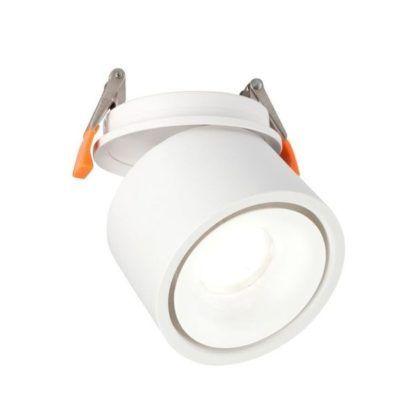 biały reflektor sufitowy