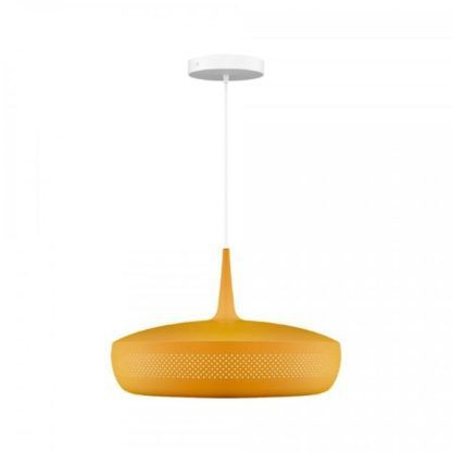 żółta lampa wisząca do salonu