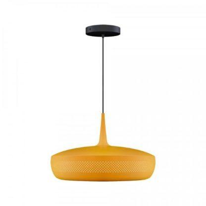 żółta lampa wisząca nowoczesna