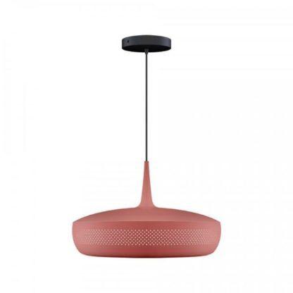 bordowa lampa wisząca do kuchni