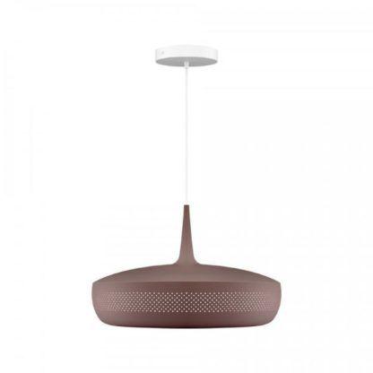 brązowa lampa wisząca do kuchni