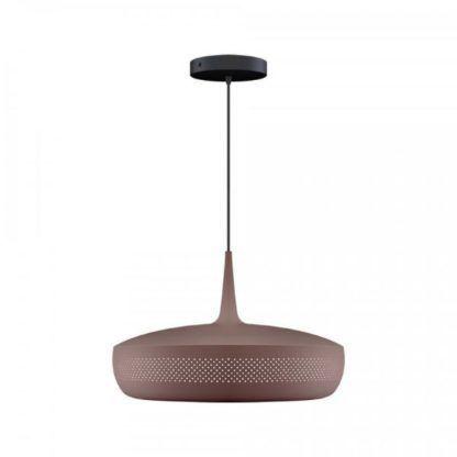brązowa lampa wisząca do jadalni