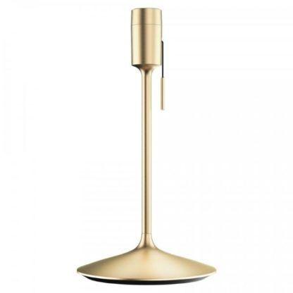 złota podstawa do lampy stołowej port USB
