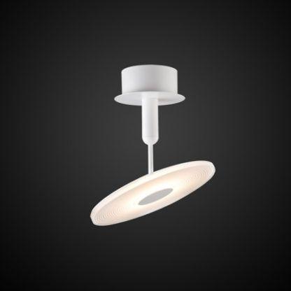 ledowa lampa sufitowa biała