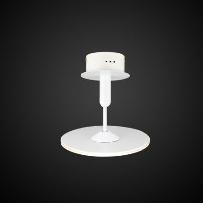 biała lampa sufitowa led